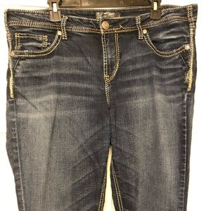 """Silver Jeans """"Auki"""" boot cut jeans"""